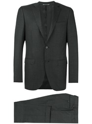 Canali Two Piece Suit Grey