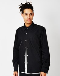 Cheap Monday Shell Nylon Shirt Black