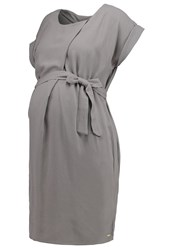 Bellybutton Jessica Summer Dress Characol Grey
