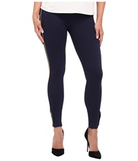 Lauren Ralph Lauren Military Legging With Gold Button Navy Women's Clothing