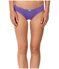 Betsey Johnson Cotton Lace Bikini J1076 Purple Passion Women's Underwear