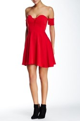 Style Stalker Ballerina Dress Red