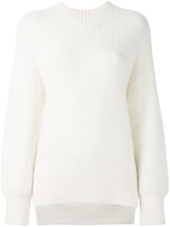 3.1 Phillip Lim Crew Neck Jumper Nude Neutrals