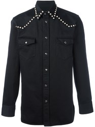 Marc Jacobs Studded Western Shirt Black