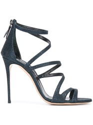 Casadei Strappy Sandals Blue