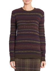 Ralph Lauren Cashmere Fair Isle Sweater Fairisle