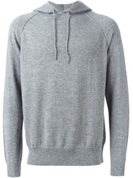 E. Tautz Hooded Sweater Grey