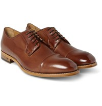 Paul Smith Ernest Leather Derby Shoes Tan