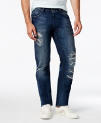 Guess Men's Slim Fit Tapered Jeans Gravel Wash
