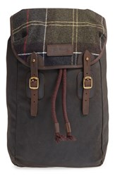 Barbour Men's Waxed Canvas Backpack