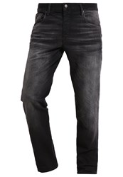 Jack And Jones Jjimike Jjiron Relaxed Fit Jeans Black Denim
