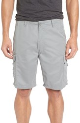 Quiksilver Men's Waterman Collection 'Maldive 9 Inch' Cargo Shorts Moon Mist