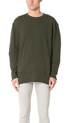 Blk Dnm Sweatshirt 75 Military Green