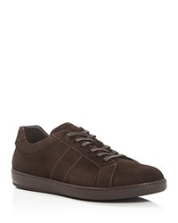 To Boot New York Elson Lace Up Sneakers Dark Brown