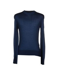 Dandg D And G Sweaters Slate Blue