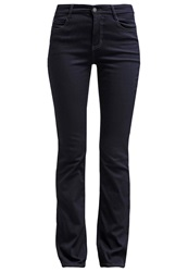 M A C Mac Dream Straight Leg Jeans Rinsed Dark Blue