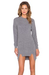 Elliatt Vibe Knit Tunic Gray