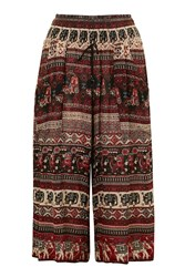 Elephant Print Pant By Band Of Gypsies Multi