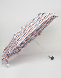 Cath Kidston Minilite Umbrella In London Guards Print Guards Multi