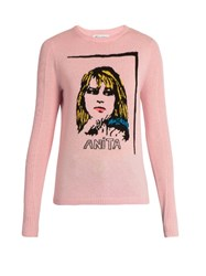 Bella Freud Anita Wool And Cashmere Blend Sweater Pink