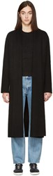 Earnest Sewn Black Long Lynn Cardigan