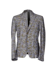 M.Grifoni Denim Blazers Green