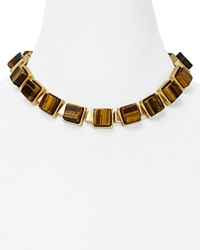 Dylan Gray Classic Collar Necklace 17 Gold