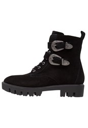 Sixty Seven Sixtyseven Carlson Laceup Boots Black