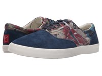 Bucketfeet Four Walls Navy Men's Lace Up Casual Shoes