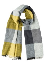 Dorothy Perkins Scarf Grey Yellow