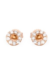 Astley Clarke Mini 'Halo' Stud Earrings Metallic