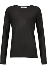 Goat Bruno Cashmere And Silk Blend Sweater Black