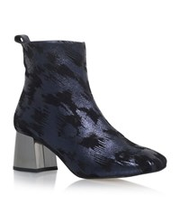 Kg By Kurt Geiger Snoopy Ankle Boots Female Blue