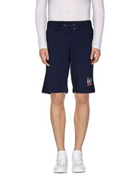 Le Coq Sportif Trousers Bermuda Shorts Men Dark Blue