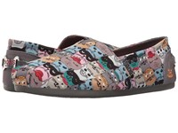 Skechers Bobs Plush Cat Party Multi Women's Slip On Shoes
