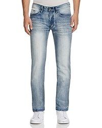 Buffalo Driven X Basic Straight Jeans In Blue Compare At 119