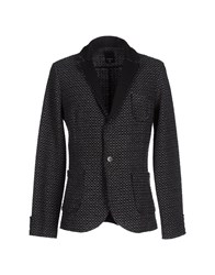 Officina 36 Suits And Jackets Blazers Men Steel Grey