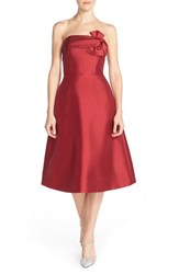 Women's Erin Erin Fetherston 'Katie' Bow Neck Twill Fit And Flare Dress