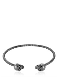 North Skull Black Skulls Bangle Bracelet