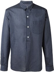 Our Legacy Striped Shirt Blue