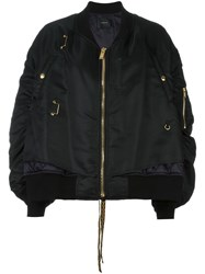 Undercover Layered Bomber Black