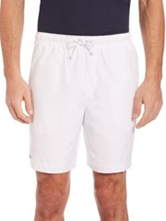 Lacoste Drawstring Golf Shorts Navy White