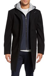 Vince Camuto Men's Hooded Campus Coat