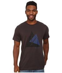Black Diamond S S Raven Tee Slate Men's T Shirt Metallic