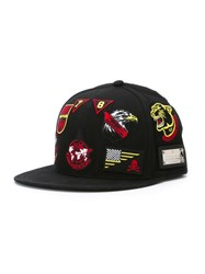 Philipp Plein 'Hey Mama' Baseball Cap Black