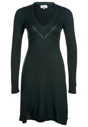 Ltb Fame Jumper Dress Petrol