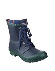 Tommy Hilfiger Renegade Rubber Boots Blue