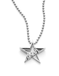 Alex Woo Little Silver Sterling Silver Wish Necklace