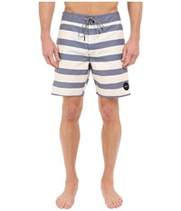 Rvca Speedway Boardshorts Silver Beach Men's Swimwear Bone