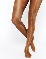 Jonathan Aston Jonathon Aston High Shine Tights Bronze Brown